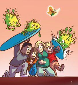 Bouclier sante enfants environnement fee sana